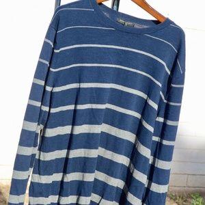 Banana Republic Blue Grey Long Sleeve Sweater